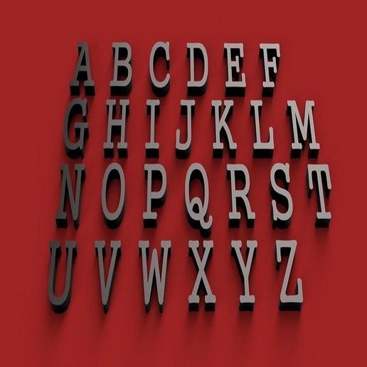 gungush font uppercase 3d