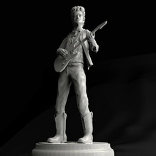 gustavo cerati 3d print model hd cerati gustavo 3d 3dprint model stereo soda sodastereo rock argentina icon toys art replicas scans statue sculpture collectible sculptures