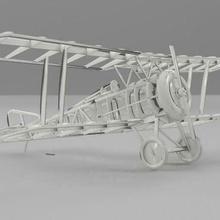hanriot hd1 Esc 1 32 3d stampa cnc instradamento aeromobili cnc mulino cnc router Taglio laser modello aeromobili realistico scala modello veicoli