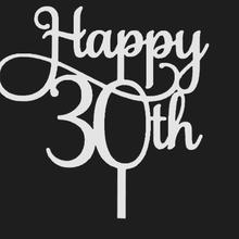 happy 30th birthday cake topper cake topper 30th happy birthday topper happy birthday birthday happy 30th birthday cake topper 30th cake topper 30th birthday 30th topper