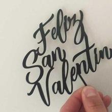 heureux Saint Valentin journée Saint Valentin journée Valentin février l'amour l'amour amour Princesse topper ornement agréable belle gâteau vendre entreprise Entreprise art
