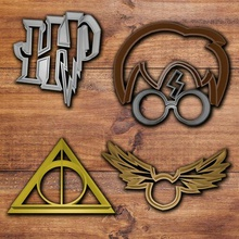 harry potter cookie cutter set home cookie cutter cookie cutter set fondant cutter harry poter cookie cutter harry potter glasses harry potter hair harry potter scar deathly hallows figure golden snitch deathly hallowscookie cutter snitch cookie cutter