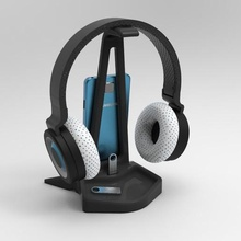 auricular de pie de la herramienta pendrive el teléfono celular smartphone los auriculares apoyo los auriculares de pie