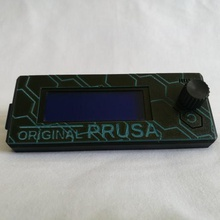 hexagon patterned prusa lcd cover prusa prusai3mk3 prusai3mk3s lcd lcdcover prusalcd hexagon