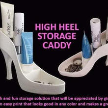 high heel storage caddy home household work womens women woman unique tabletop table storage stationary stand shoes presents present office supplies office organization office stationary office nsfw novelty novel muzz64 mothersday mothers day makeup organizer makeup holder makeup box makeup lady ladies jewellery display jewellery box jewellery home holder girls girl gifts gift fun desk organizer desktop desk cosmetics container christmas caddy box birthday bedroom bathroom girl friend