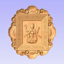 hindu goddess various goddess hindu cnc relief 3d