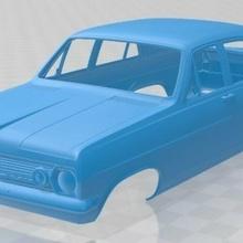 holden hr premier 1966 printable body car