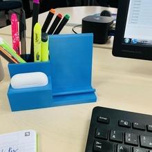 titulaire soutien téléphone pro airpods stylo espace rangement