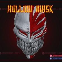 hollow mask - kurosaki ichigo bleach mask game bleach bleach ichigo mask ichigo mask bleach mask anime manga japanese ghost mask ichigo hollow mask hollow hollow mask  cosplay halloween