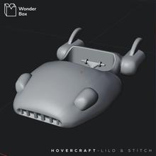hovercraft Lilo dikiş hovercraft Lilo dikiş Disney film stl oyuncak