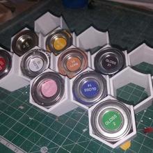 humbrol peinture boîtes de titulaire divers bricolage