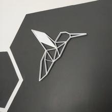 beija-flor colagem de magnetização do plantio a casa beija-flor origami mural parede 2d com fios colar ímã planta jardim a decoração pássaro roubar