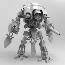 imperial rapid cannon - ultra mega pack tool 3d printing wh40k warhammer 40k warhammer40k warhammer titan space marine robot rapid cannon questoris marine knight questoris knight imperial knight imperial cannon imperial gun cannon admech adeptus titanicus 40k warhammer 40k