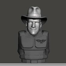 Indiana Jones 28mm cabeza guardias Guardia am ig imperial Guardia 40k martillo guerra cadian cadia dkok guerra martillo juego guerra ciencia ficción 28mm t rex dinosaurio dinosaurio blindado tallarn mundialmente