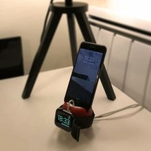 iphone + apple watch support iphone apple watch stand
