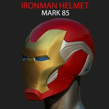 ironman helmet mark 85 infinity war endgame marvel art head captain ironman mark 85 cosplay ironman mark85 helmet ironman infinity war ironman endgame ironman cosplay mask ironman mask