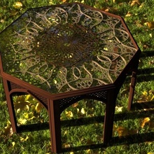 islamisch Tabelle islamisch arabisch cnc Holz Panel
