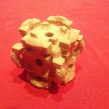 isosurface early stage companion cube portal math_art