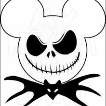 jack boîte Mickey version cauchemar Noël jack disney Mickey