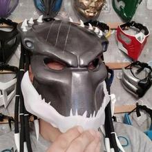 mascella predatore maschera predatore maschera casco alieno xenomorfo facefugger cosplay passatempo divertimento