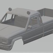 jeep comanche 1988 printable body car game jeep comanche 1988 printable body car slot scalextric shell rc radio monitoring tamiya miniz 1-10 1-32 1-18 1-24