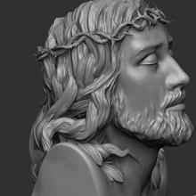 jesus christ  jesus jesus christ human face head religion christian crucifixion