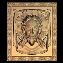 jesus face religious art