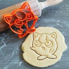 jigglypuff Pokemon biscotto taglierina jigglypuff Pokemon animazione biscotto cottura biscotto taglierina Impasto forma cucina infornare biscotti speculoos