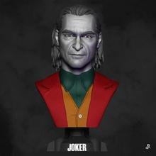 joker dc komik kitap kötü adam joker Joaquin Anka kuşu şekil büst