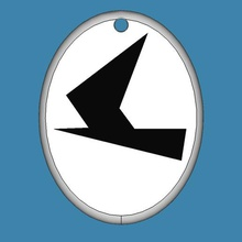 catena chiave di vela segno - schwertzugvogel gadget vela segno chiave a catena zugvogel schwertzugvogel anycubic fotone sla