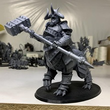 khodec stareater 28mm centauro caos dragón ogro infantería miniatura monster resina sla esclavos oscuridad indiviso warhammer warhammer_fantasy guerreros