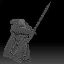 el caballero oscuro de los cruzados - classic edition juego 28mm negro crusader oscuro caballero en la marina espacio tablero de la mesa templario de juguete