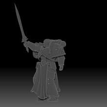 el caballero oscuro cruzados juego 28mm negro crusader en miniatura scifi space marine templario de juguete