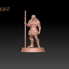 kynon gulfslayer soldado wargaming tampo mesa sagas espada guerreiro 28mm stl fantasia