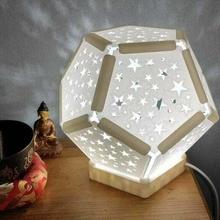lámpara dodecaedro estrellas dodecaedro lámpara pantalla lámpara estrella decoración