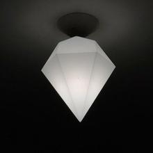 lampada paralume diamante poli lampada spirale paralume diamante lowpoly luce casa interno design