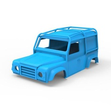 land rover defender 90 le 1997 game standard control rc automobile chassis 3d-print old printable cabin truck car vehicle rover-997 land-rover 1997 le 90 defender rover land