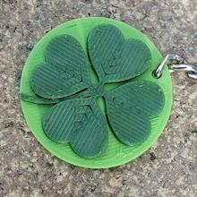 leaf clover - keychain jewelry 4 leaf clover clover cloverleaf leaf clover keychain keychains