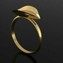 folha anel acessórios moda 3d matriz joalheria ouro designer ouro designer JewelleryDesigner gema rinoceronte simples flor anel colar fusão pulseira pingente on trend tendência orelha modelo