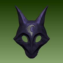 league legends - kindred wolf mask props cosplay gadget lamb wolf lol league of legends kindred moba legends of runeterra jailbreakarts videogame helm helmet