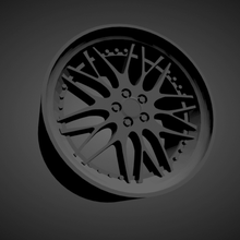 leon hardiritt bugel scalable printable rims cars low poly hot wheels 1/18 1/24 1/25 1/32 1/43