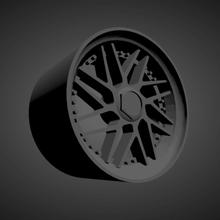 leon hardiritt geist scalable printable rims cars low poly hot wheels 1/18 1/24 1/25 1/32 1/43