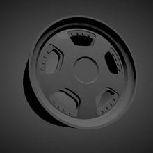 leon hardiritt ritter scalable printable rims cars low poly hot wheels 1/18 1/24 1/25 1/32 1/43