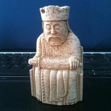 lewis chessmen king game