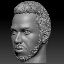 lewis hamilton 7x f1 champion art f1 hamilton driver male man bust head champion sculpture human portrait
