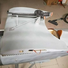 lewis mk 2 machine gun dashboard cover helicopter engine cowling jet rc aircraft plane aeromodelling machine gun