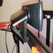 logitech telecamera 2020 montare attrezzo 2020 estrusione telecamera montare logitech webcam 3d stampante Accessori