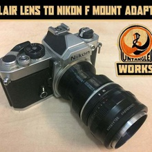 lomo belair lens nikon f mount adapter gadget camera photography nikon mount nikon f-mount nikon lomography lomo lens adapter dslr belair adapter