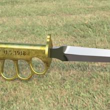 m1 trench knife ww2 replica prop trench knife knife ww2 cosplay military trench warfare replica m1 trench knife education eductation model prop realistic