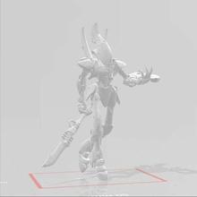 magia hombre robot eldar vidente aeldari craftworlds fantasma señor espectros martillo guerra 40k warhammer40k